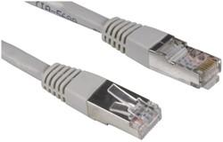Kabel Hama CAT5e STP 15m grijs 10 stuks