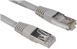 Kabel Hama CAT5e STP 30m grijs bulkverpakking