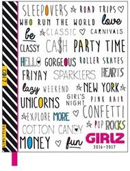 Girlz agenda 2016-2017