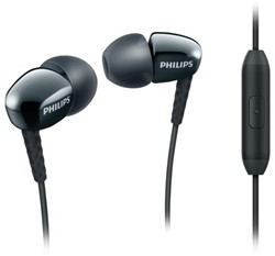 Headset Philips in ear SE3905B zwart