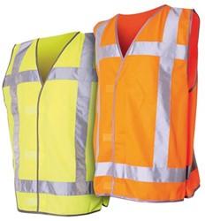 Veiligheidsvest QW3 fluor oranje