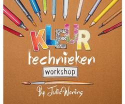 Kleurboek volwassenen Julia Woning kleurtechnieken