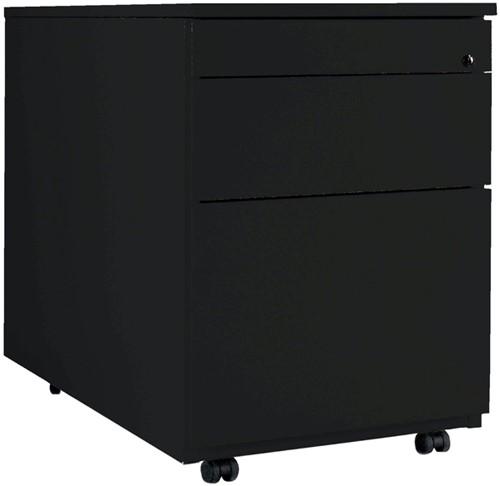 Ladenblok 1 lade en 1 hangmappenlade zwart