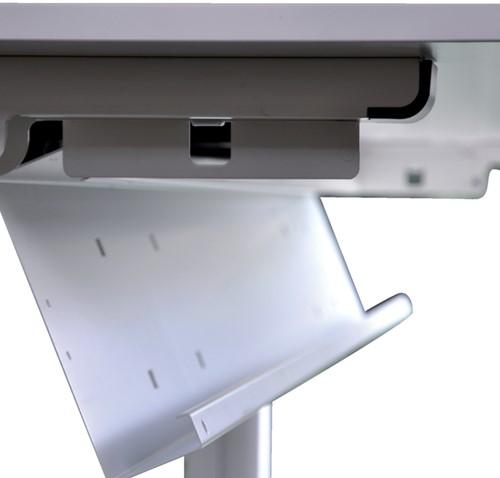 Kabelgoot NPO universeel 120cm aluminiumlook