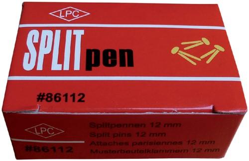 Splitpen LPC 12mm doos 100stuks koper