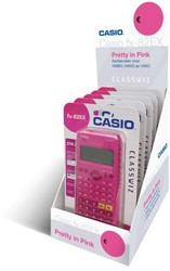 Rekenmachine Casio Classwiz FX-82EX roze display 4+1 gratis