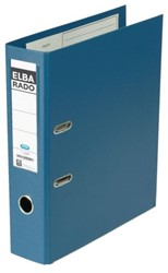 Ordner Elba Rado plast A4 80mm pvc blauw
