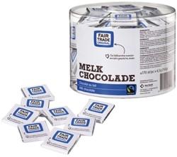 Chocolade Fairtrade Care melk 170 stuks