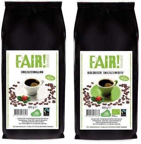 Koffie Fair biologisch snelfiltermaling 900gr-2
