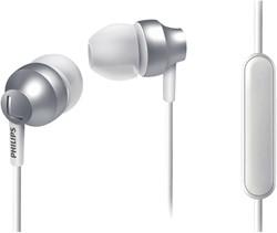 Oortelefoon Philips in ear SHE3855S zilver/wit