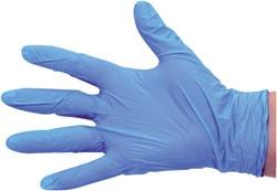 Handschoen PrimeSource Nitril ongepoederd small blauw