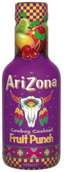 Frisdrank Arizona iced tea fruit punch petfles 0,5l
