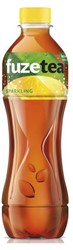 Frisdrank FuzeTea Sparkling/lemon petfles 0.40l