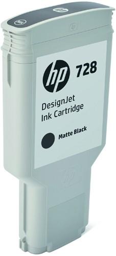 Inktcartridge HP F9J68A 728 mat zwart
