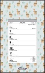 Weekscheurkalender 2019 Foqus alpaca