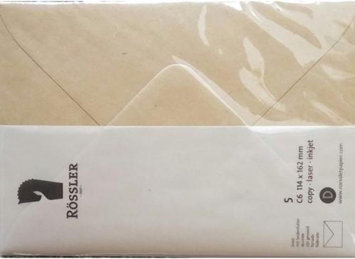 Kraft C6 envelop