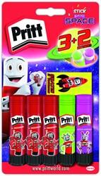 Lijmstift pritt 11gr In to Space 3+2 gratis blister