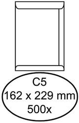 ENVELOP GREEN STAMP AKTE C5 229X162 90GR WIT 500 STUK