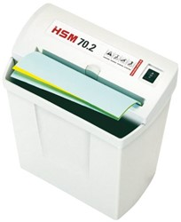 Papiervernietiger HSM classic 70.2 stroken 5.8mm