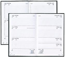Kantoor- en bureauagenda's kort