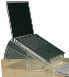 Laptopstandaard verhoger OPUS 2 transparant