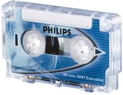 CASSETTE DICTEER PHILIPS LFH0007 2X30MIN 1 STUK