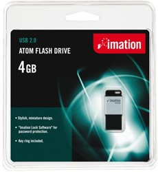USB-STICK IMATION ATOM FLASH DRIVE 4GB USB 1 STUK