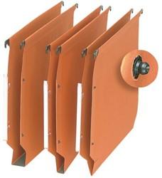 Hangmap Elba Medium DR A4 V-bodem karton oranje