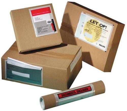 Paklijstenvelop Quantore zelfklevend blanco 225x115mm 1000st