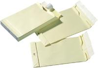 Envelop Quantore monsterzak 230x350x38mm zelfkl creme 125st-1