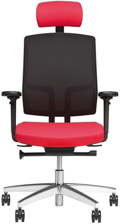 Bureaustoel Met Hoofdsteun.Be Proud 200 Bureaustoel Beta Incl Armleggers Hoofdsteun Stofgr 2