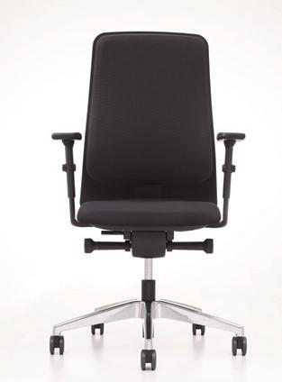 Prosedia Work Ergo F140V. Ergonomische bureaustoel met comfortabele zitting en hoge rugleuning