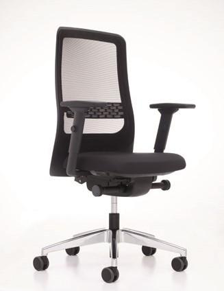 Prosedia Bureaustoel W8rk Ergo F170V Net Zwart