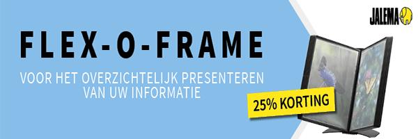 flex o frame 25% korting