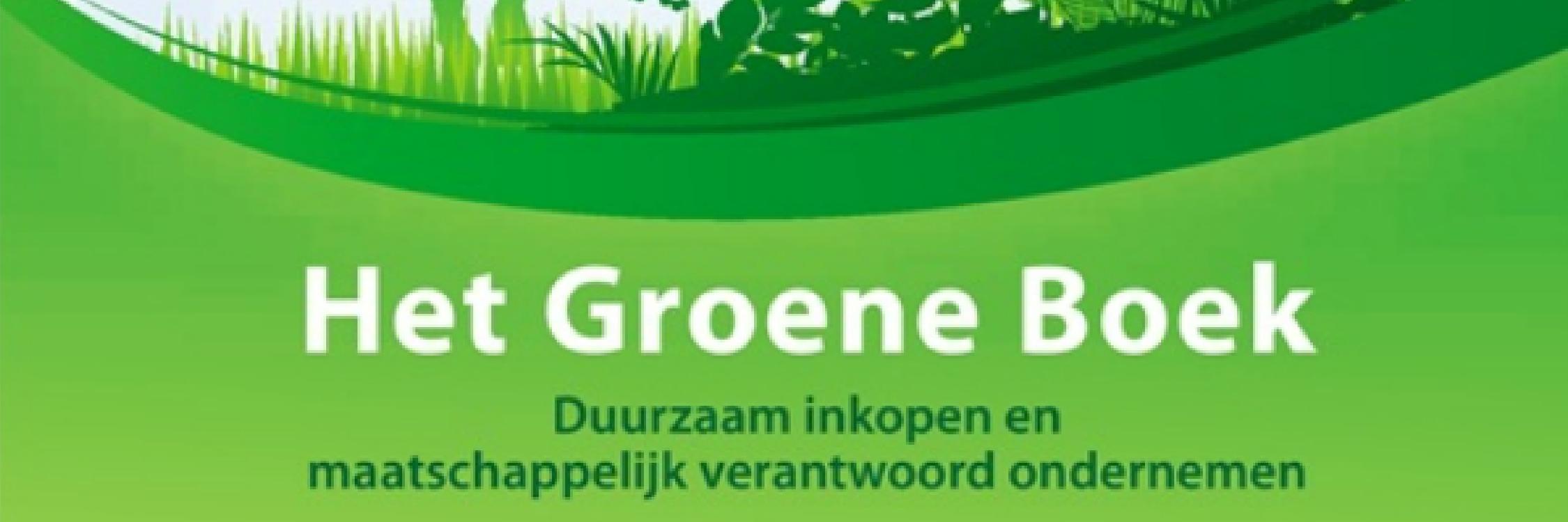 Voorpagina - banner 2 groen