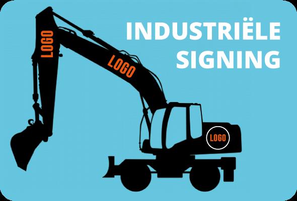 signing pagina - industrieel - rij twee