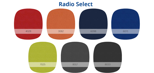 BE PROUD 100 BUREAUSTOEL - Radio Select