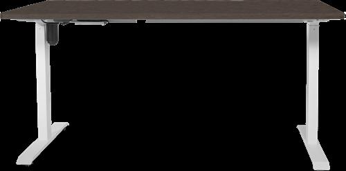Zit sta verstelbaar bureau Easyo  - Bruin - 120 x 60 cm